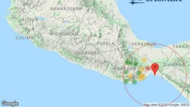 Sismo México