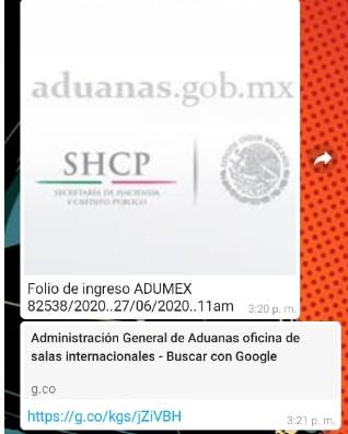 Fraude aduanas mexico