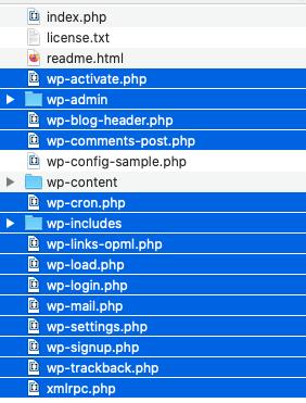 archivos subir wordpress