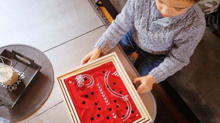 À la découverte du labyrinthe en bois BRIO et de sa planche 3D