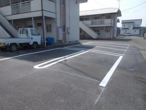 市営大豆田団地浄化槽外解体・駐輪場新設工事