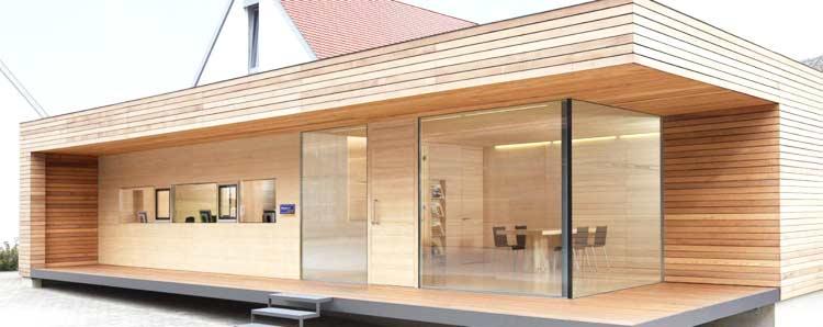 Casa in legno in stile moderno: Case Prefabbricate In Legno Prezzi E Caratteristiche