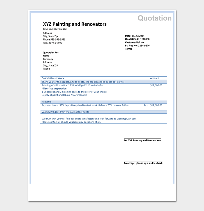 quotation template doc april onthemarch co