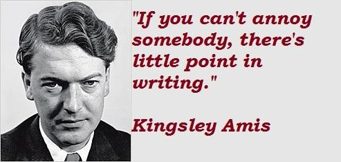 Image result for kingsley amis quotes