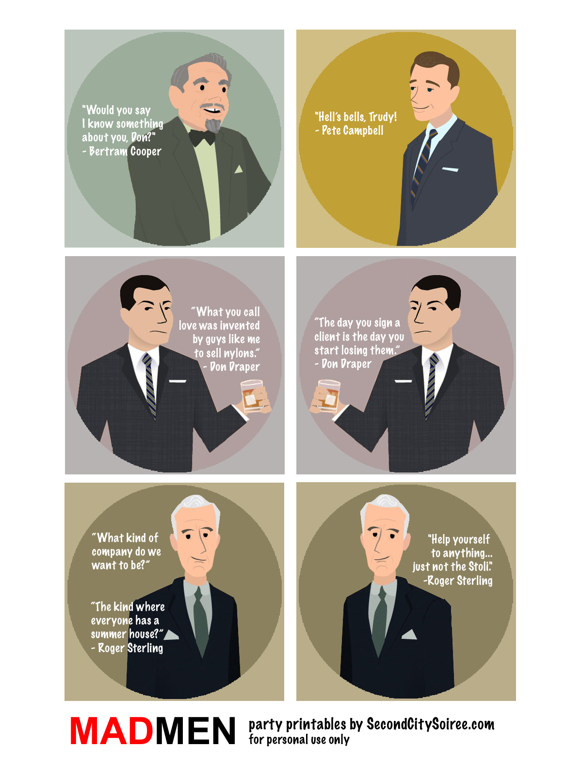 Famous Quotes About Mad Men