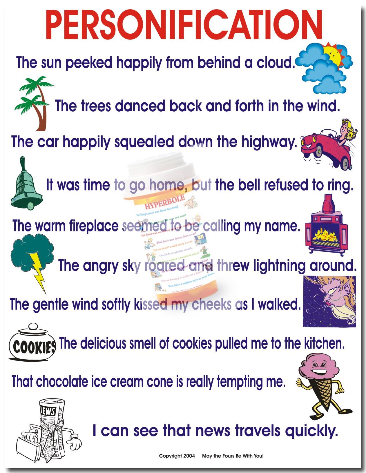 Alliteration And Hyperbole Worksheet