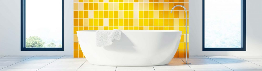 couleurs tendance de salle de bains