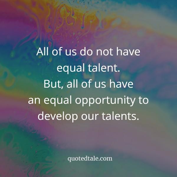 equal talent