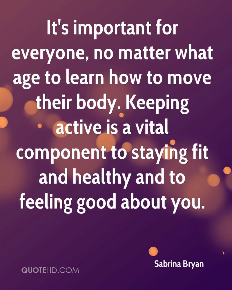Image result for keep active no matter what