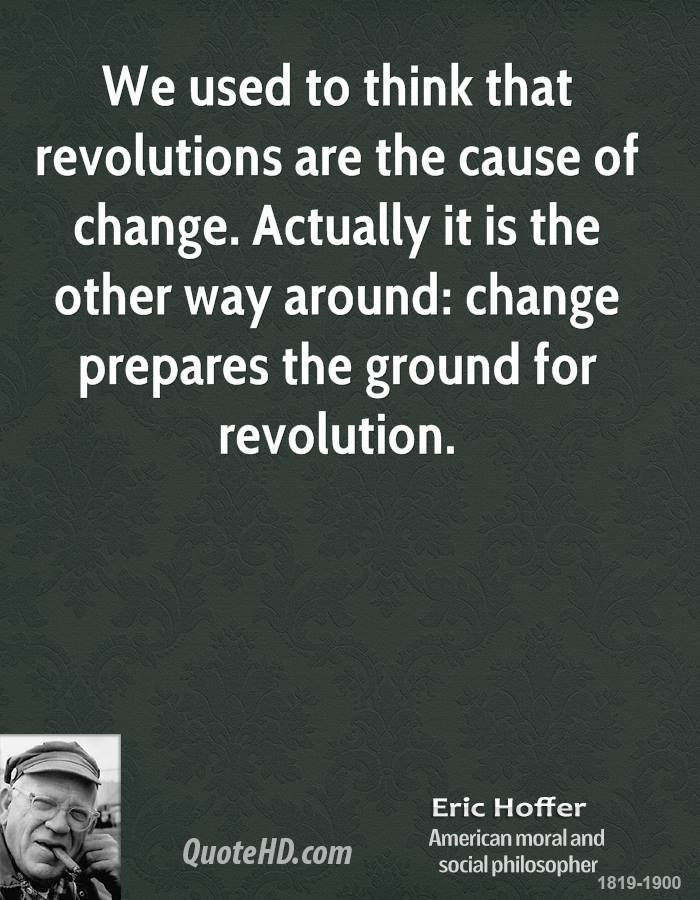 Quotes About Change And Revolution QuotesGram