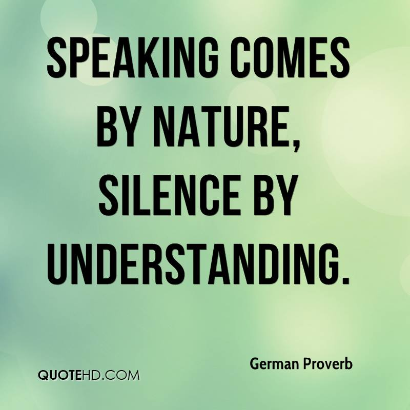 Image result for silence vs. speaking photo