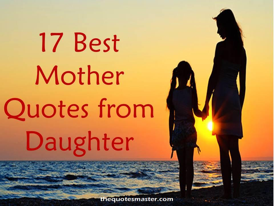 Mother Quotes Sweet Daughters