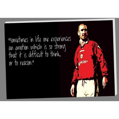 He ended his professional footballing career at manchester united where he won. Quotes About Cantona 25 Quotes