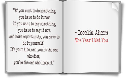 Image result for the year i met you cecelia ahern quotes