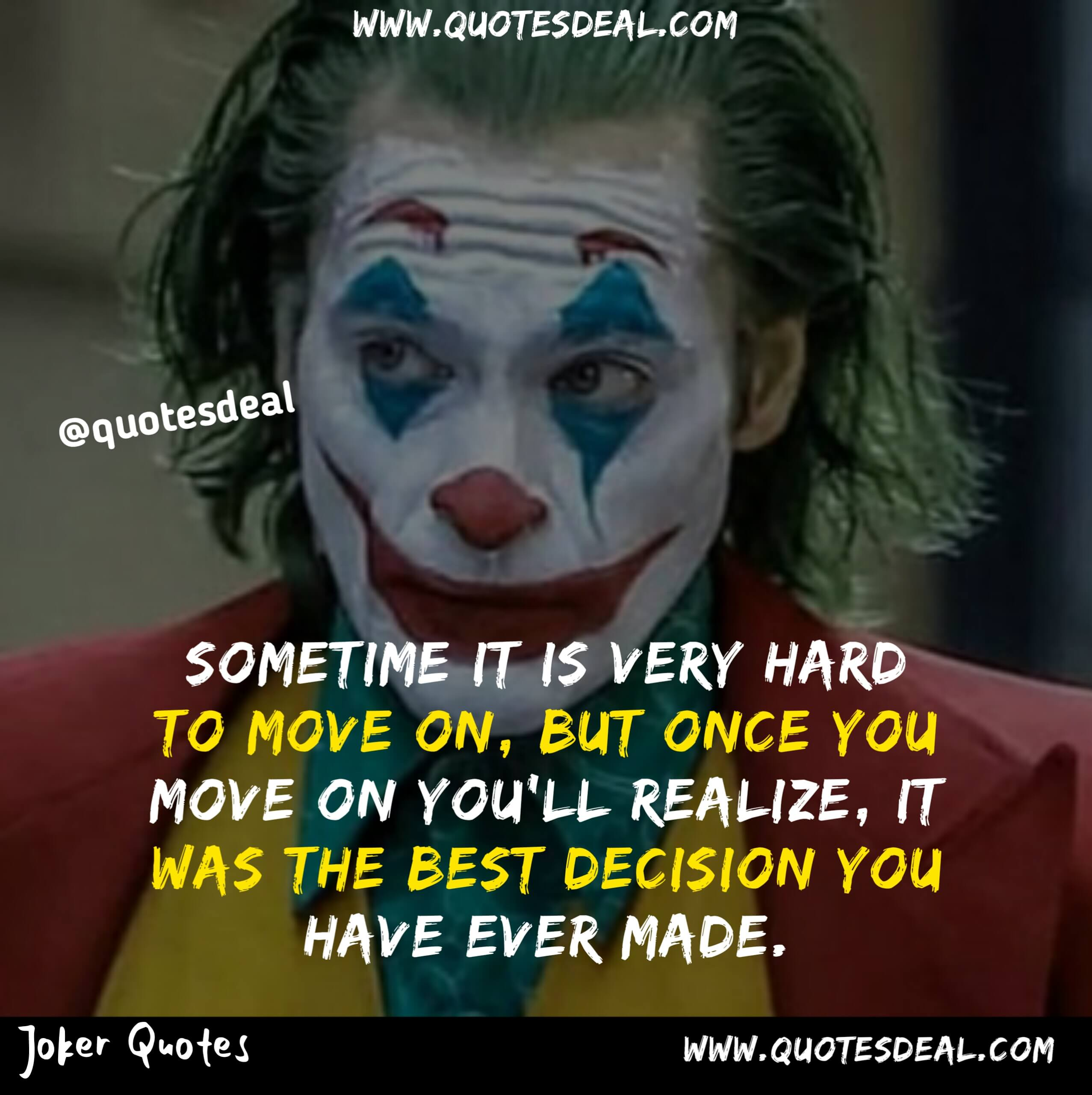 Sometime it is very hard to move on