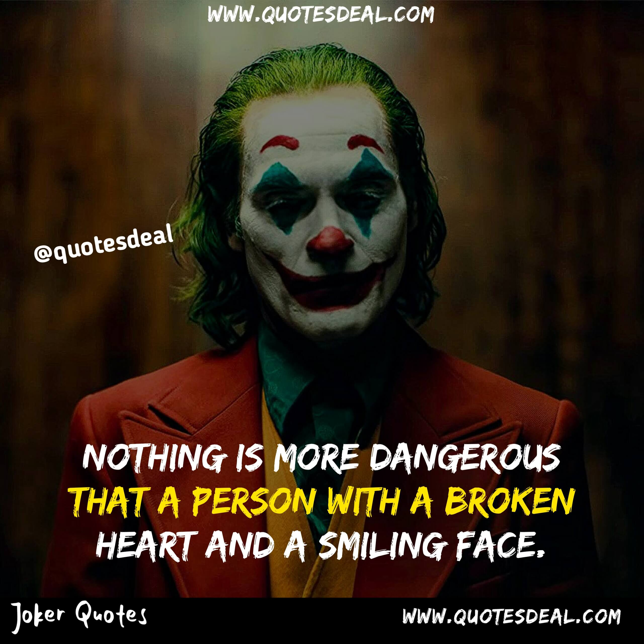 Nothing is more dangerous