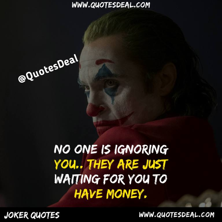 No one is ignoring you
