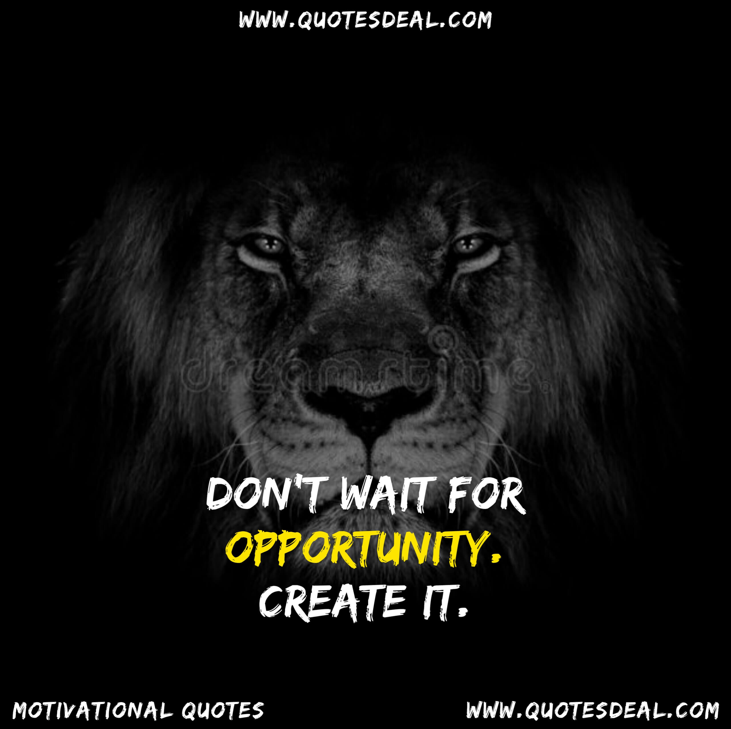 wait for opportunity