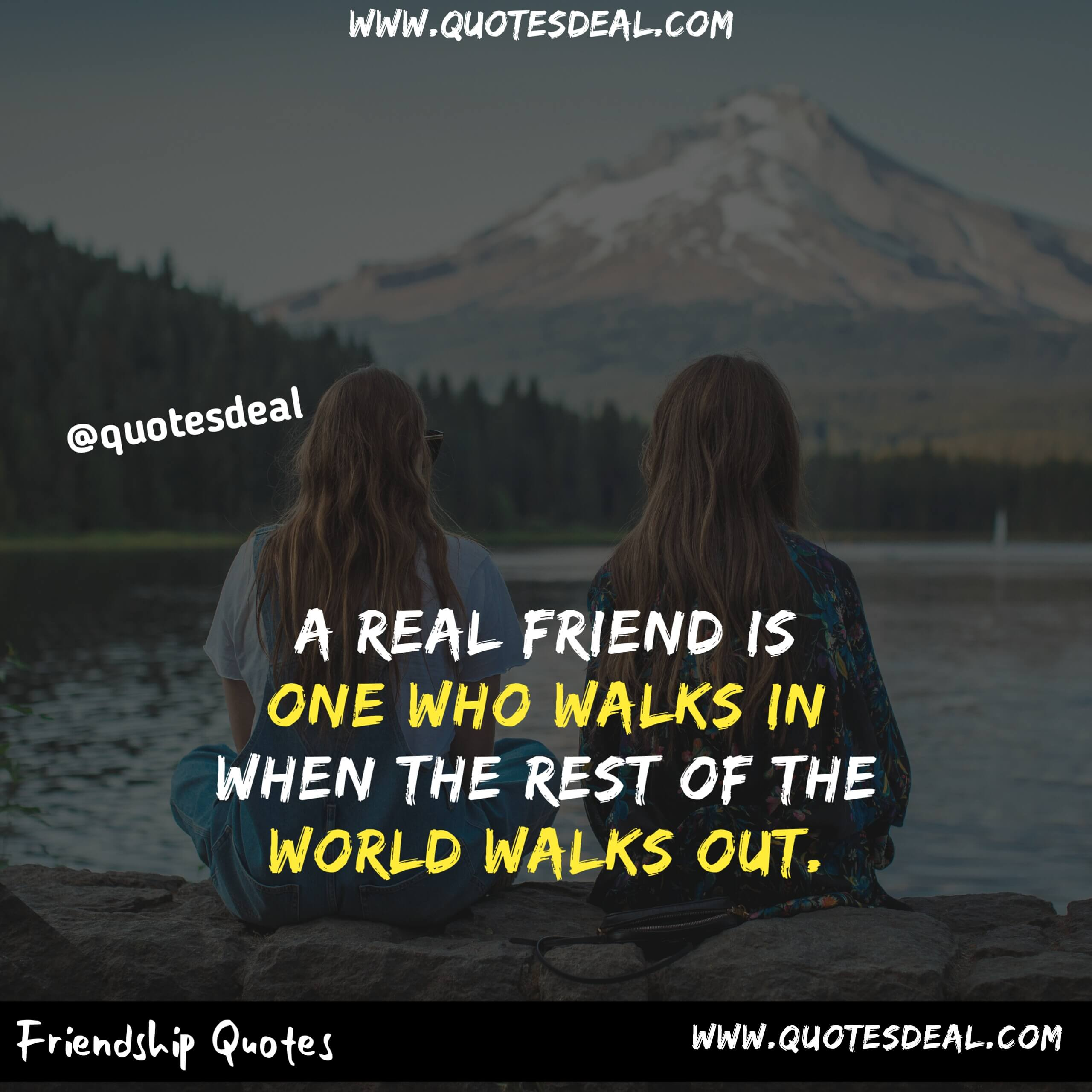 real friend is one