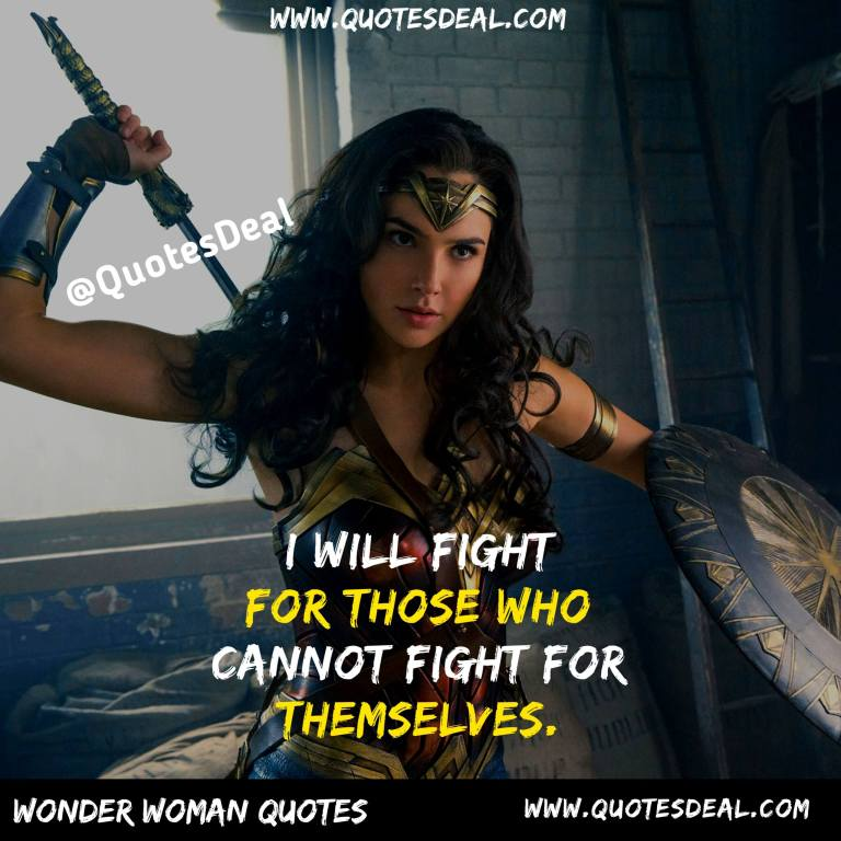 I will fight for those