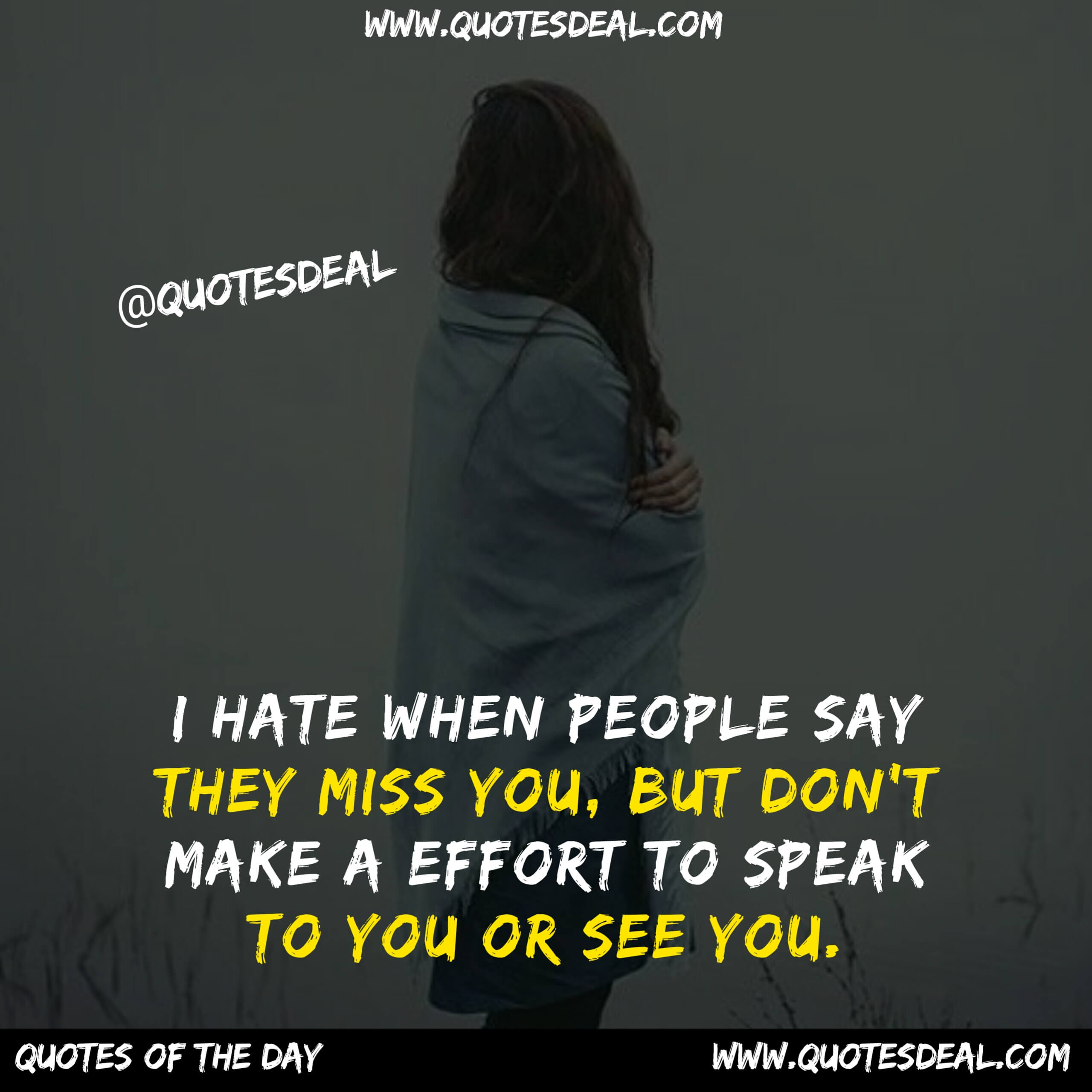 I hate when people say