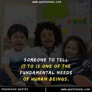 the fundamental needs of human beings