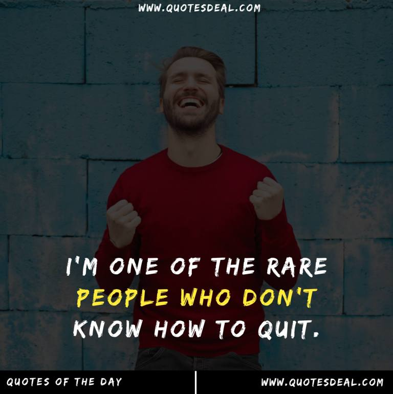 one of the rare people
