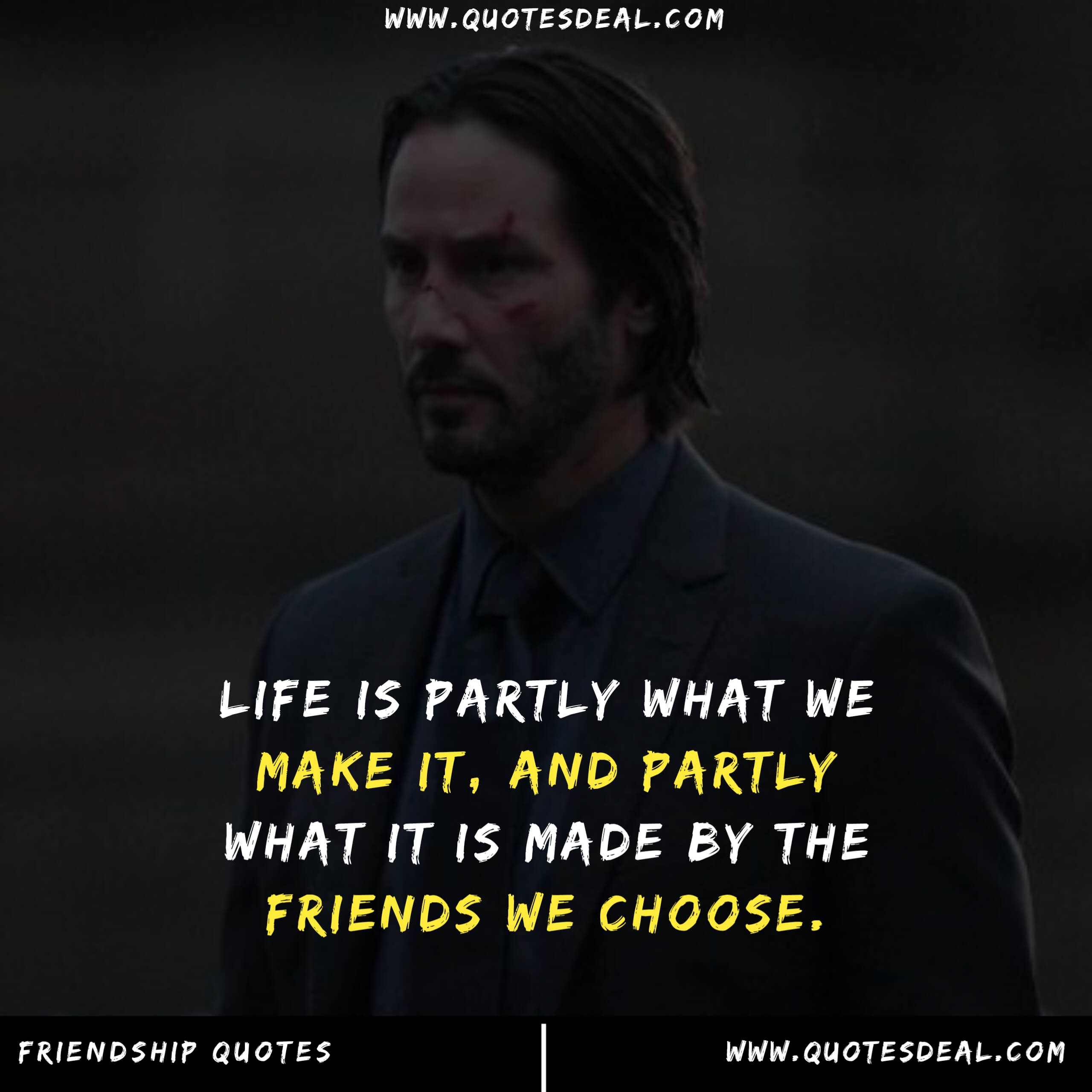 Life is partly