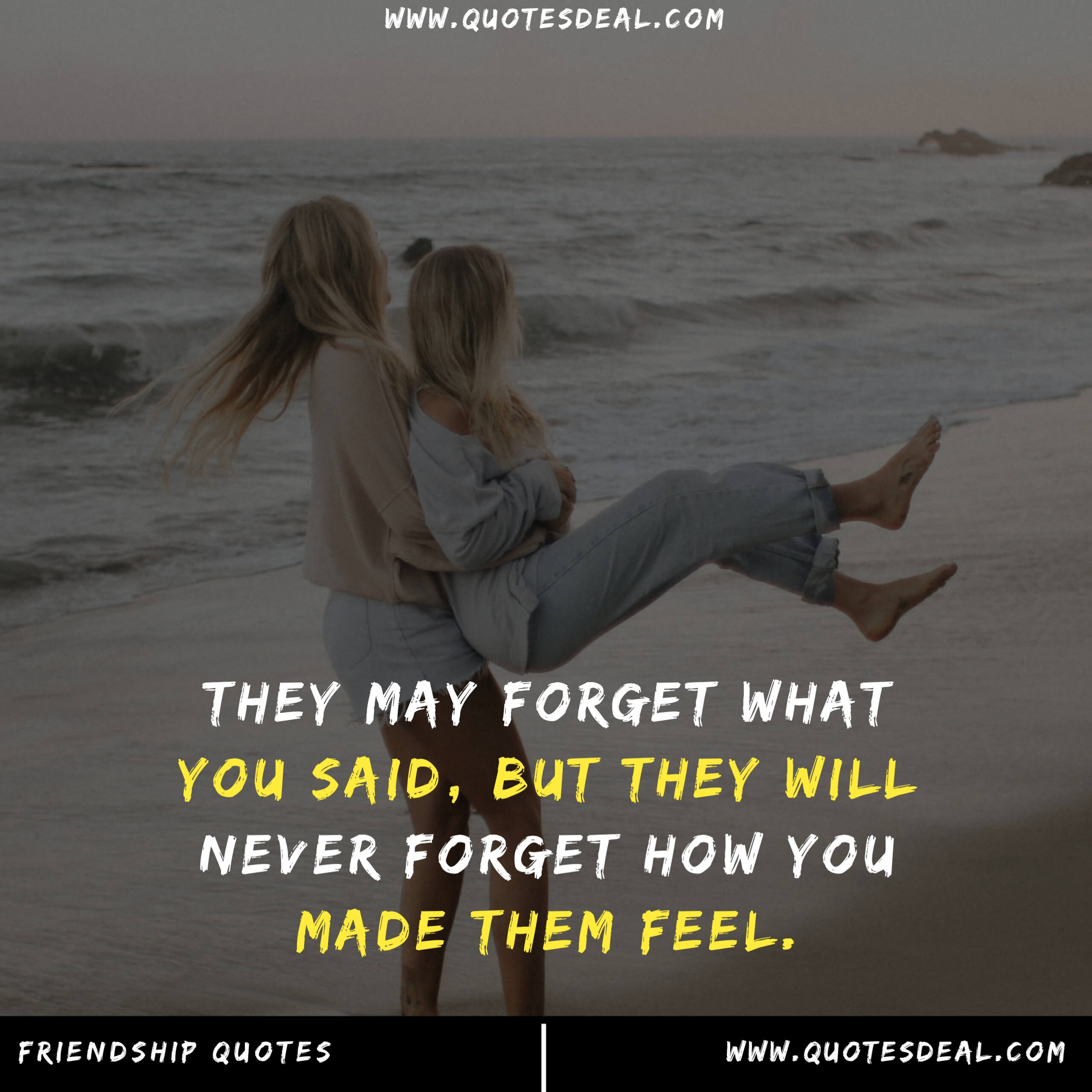 may forget what you said