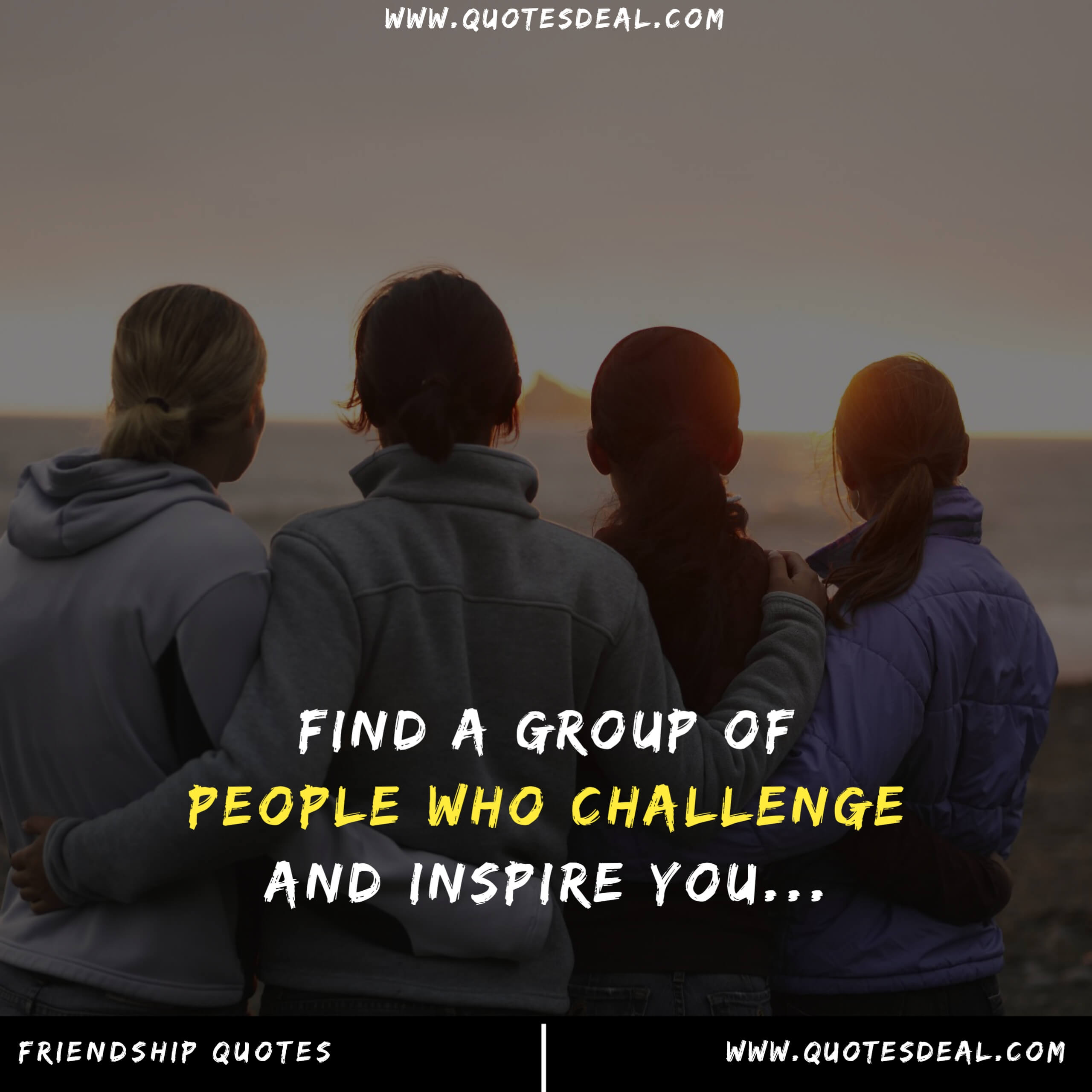Find a group of people