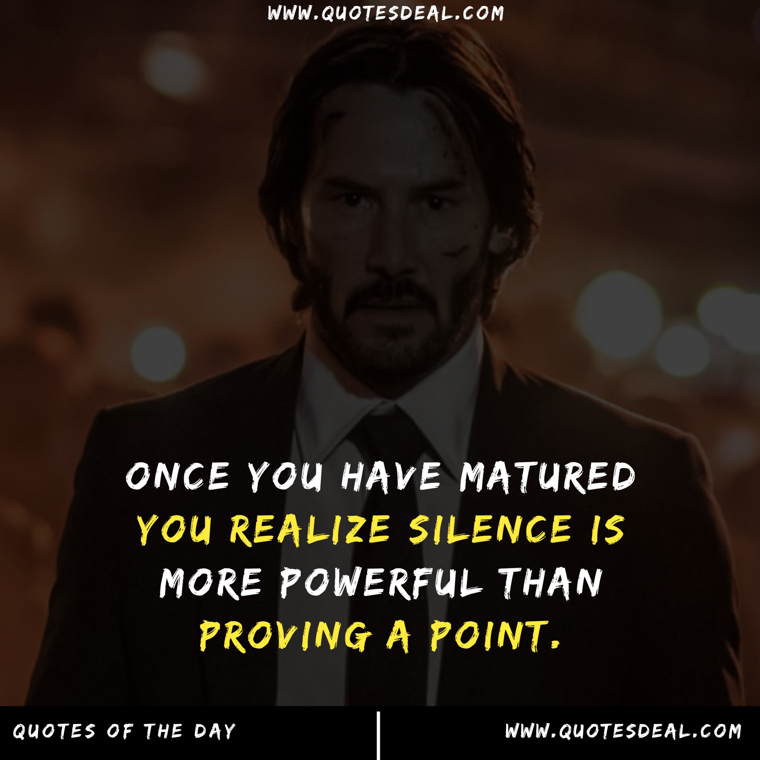 Once you have matured