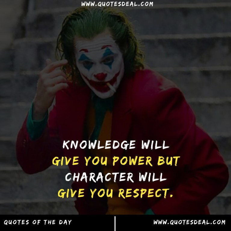 Knowledge will give you power