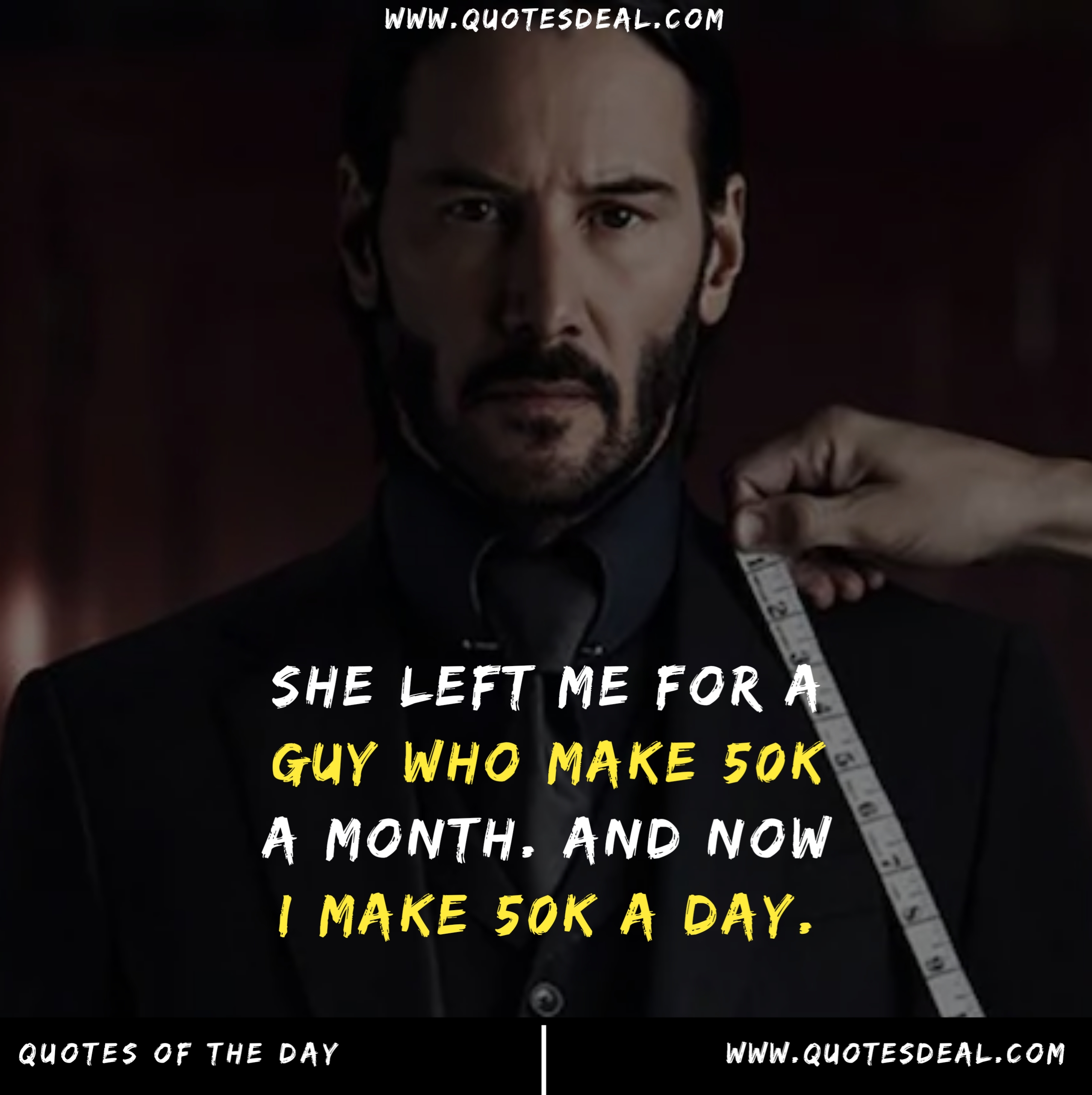 She left me for a guy