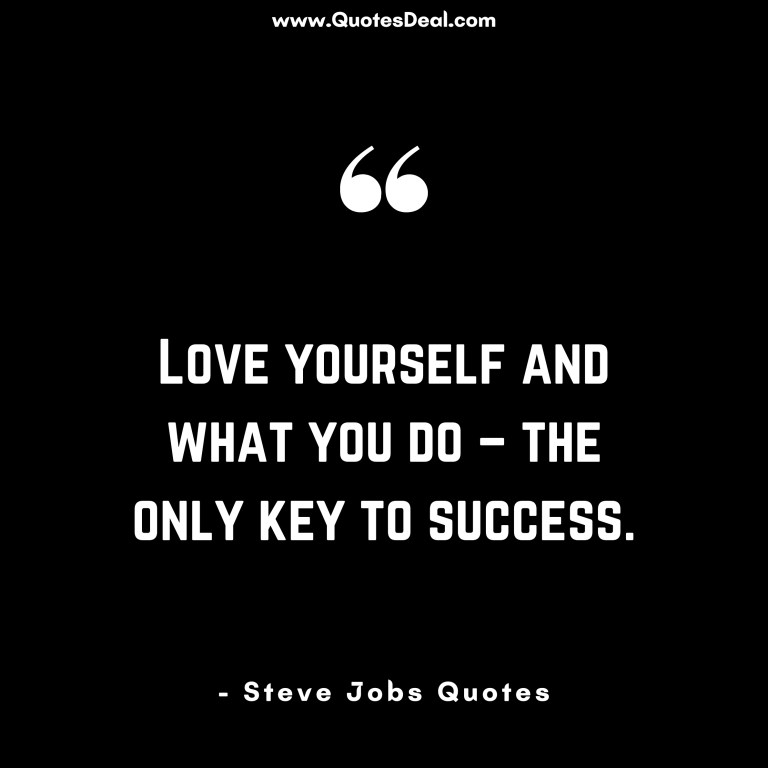 the only key to success