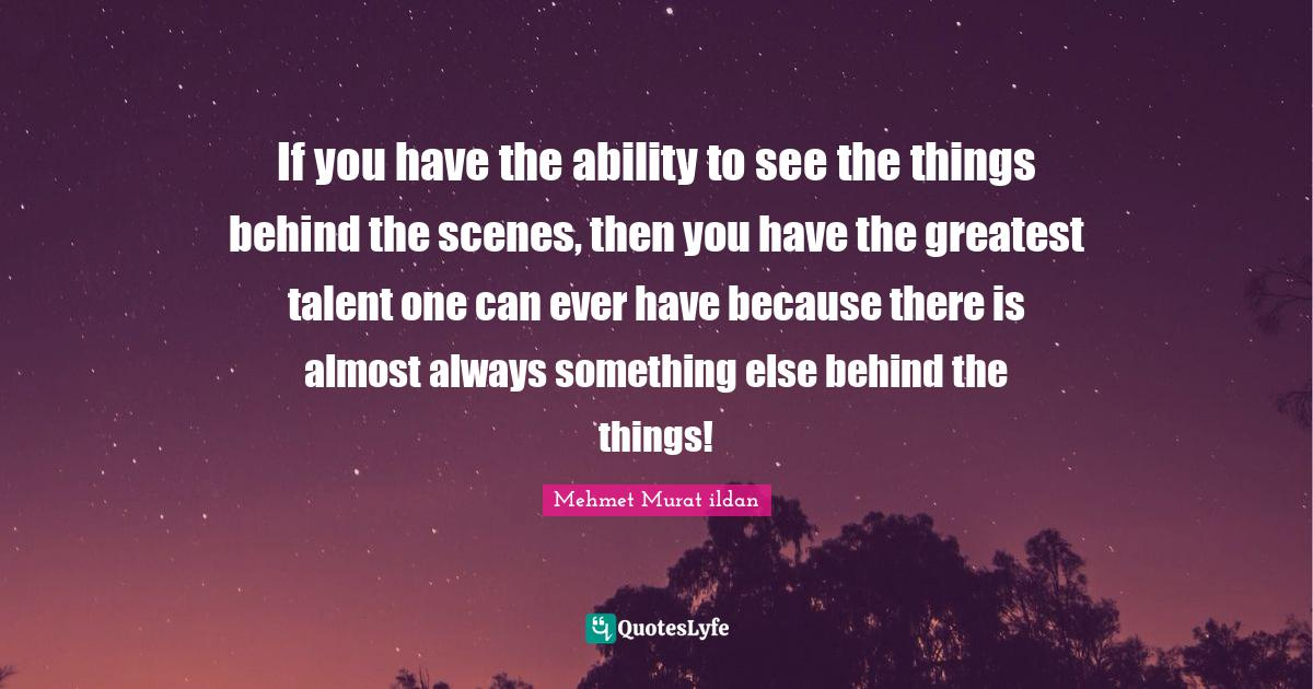 best behind the curtain quotes with