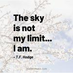 175 Selected Quotes on Sky that Maximize your Limit