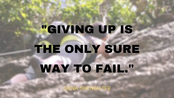 75 Strongest Quotes About Fear of Failure
