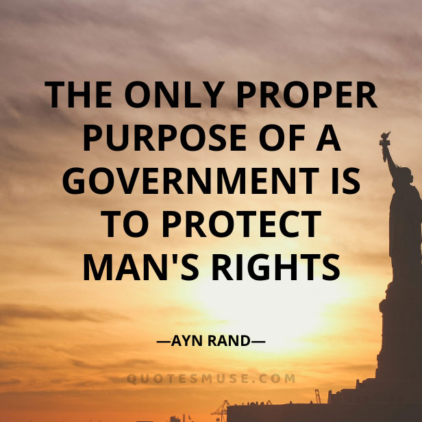 13 Ayn Rand Quotes Interesting on Government System