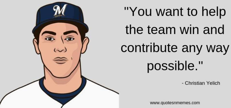 Top 20 Christian Yelich Quotes