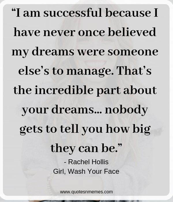 Top 25 Girl, Wash Your Face Quotes by Rachel Hollis