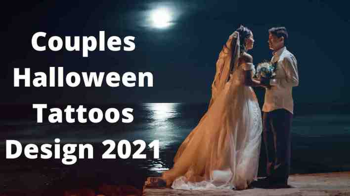Couples Halloween Tattoos Design 2021 images