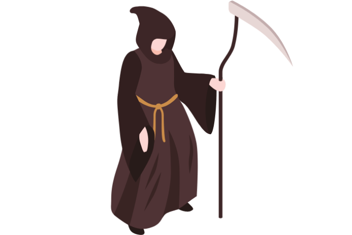 Clipart Of Halloween Ghost Costume