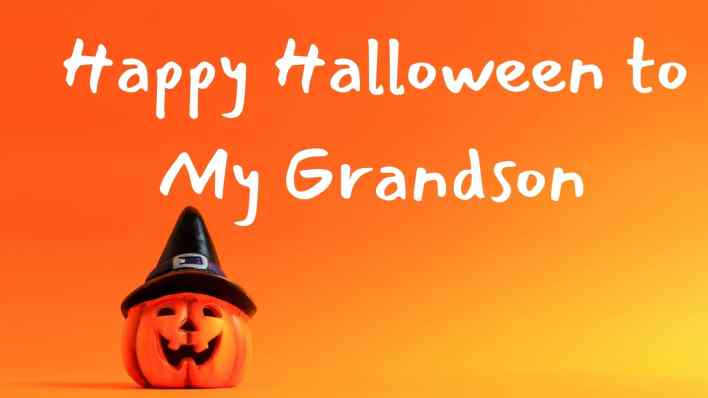 Halloween wishes for grandson pics