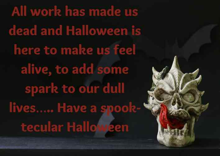 happy halloween message to employees images