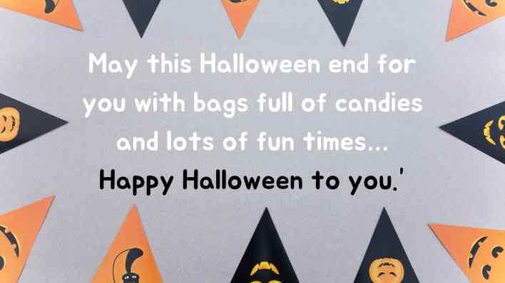 Funny halloween wishes