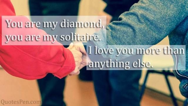 You are my diamond