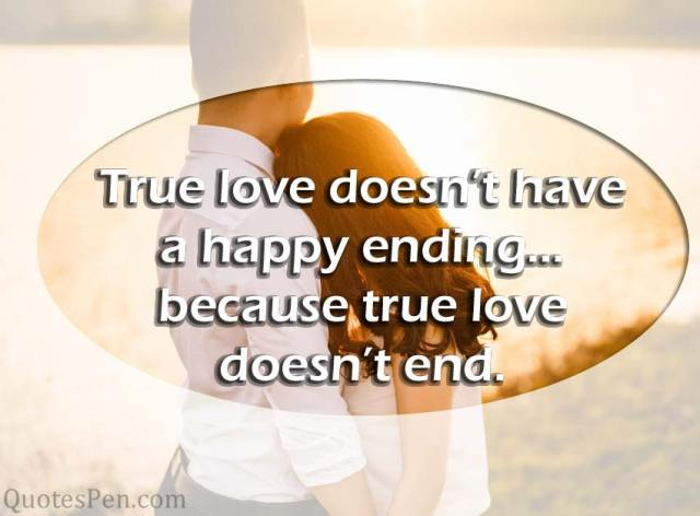 true-love doesn't end