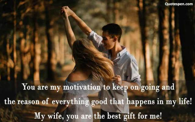 my wife-you are the best gift for me