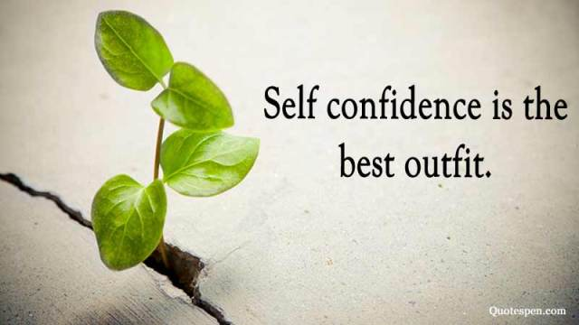 self-confidence-inspirational words
