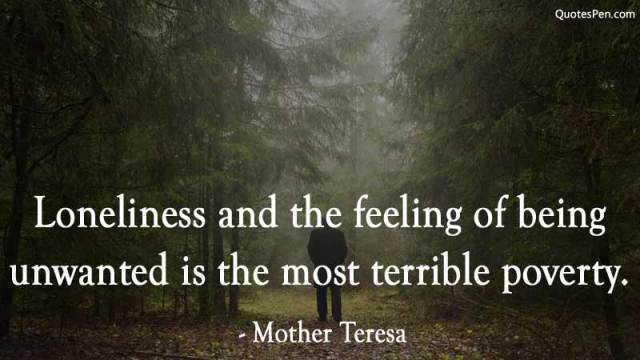 loneliness feeling-depressing-quote